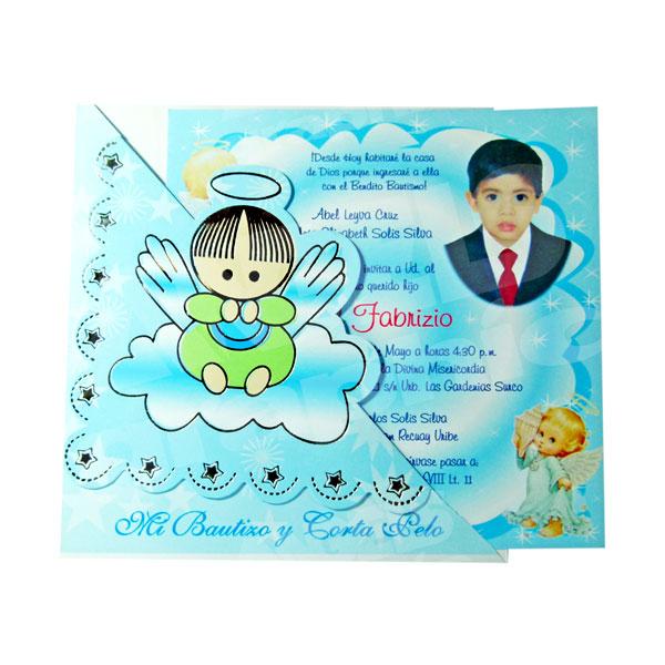 Invitacion Bautizo Bz 46510 Imprenta Lima Tarjetas Flyer