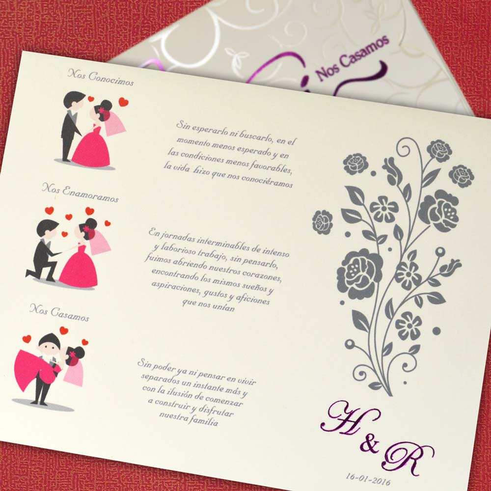 Partes De Matrimonio Mt 50538 Angels Graphic