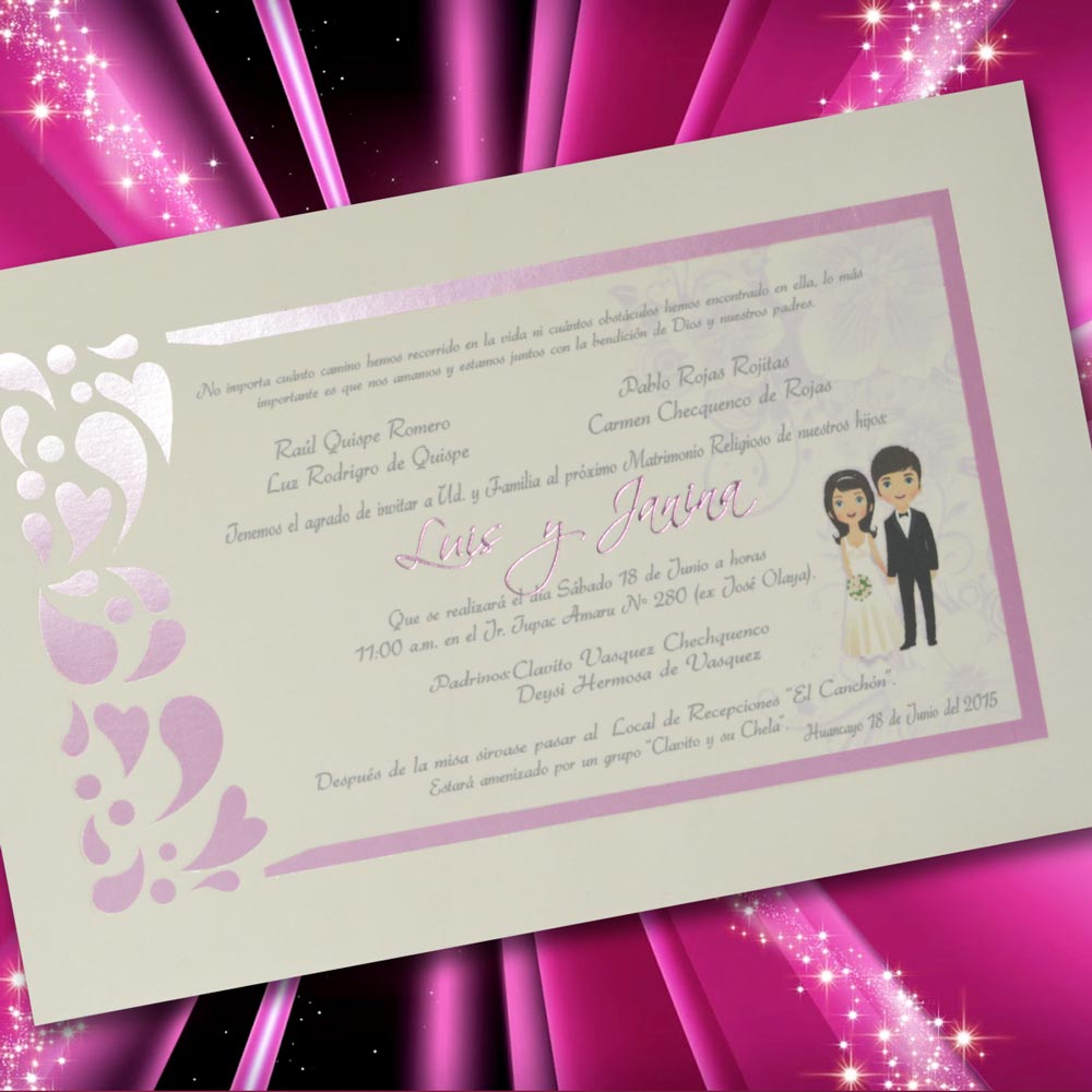 Partes de matrimonio mt 50542 angels graphic - Modelos de tarjetas de boda ...