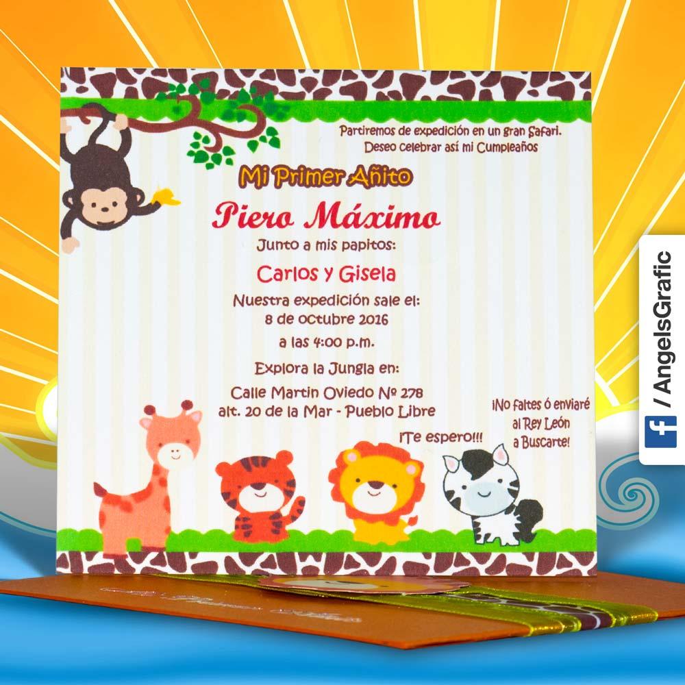 Invitacion De Fiesta Infantil Yeter Wpart Co
