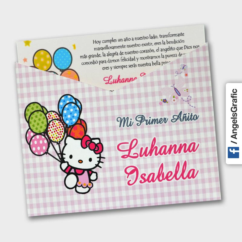 Tarjeta De Fiesta Infantil Fi 67549 Angels Graphic
