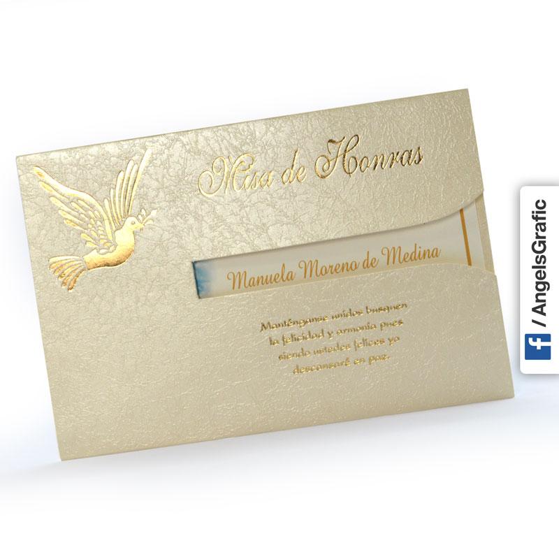 Misa De Honras Defuncion Hr 56861 Imprenta Lima Tarjeta