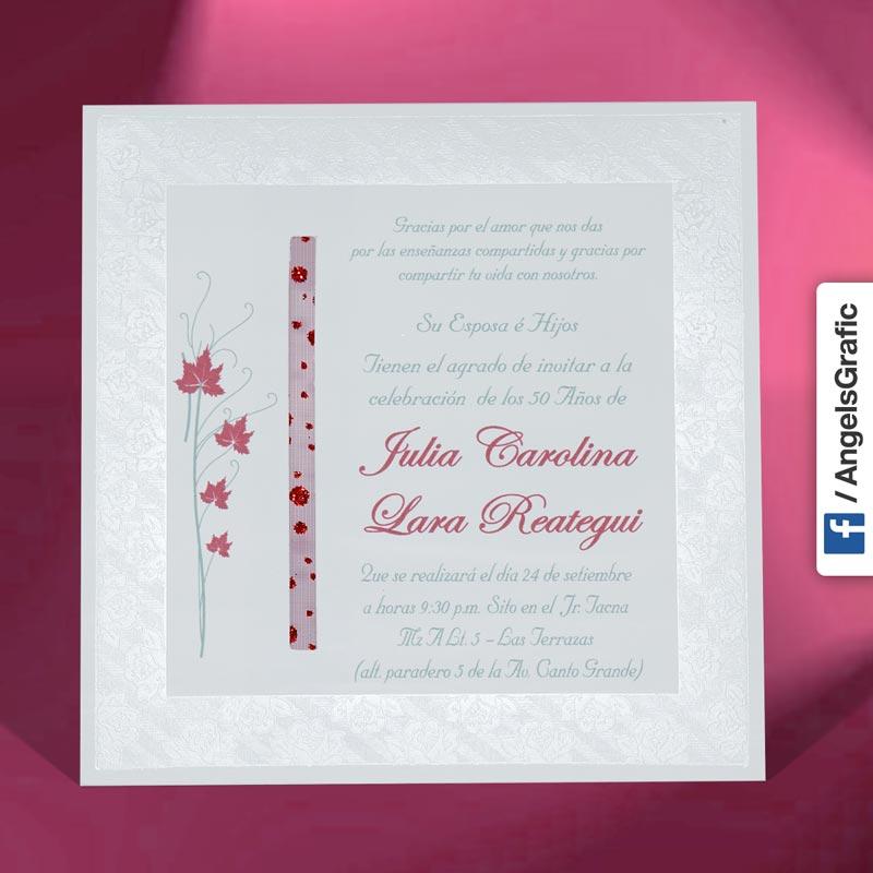 Tarjeta De Invitación Para Cumpleaños To 202 Angels Graphic