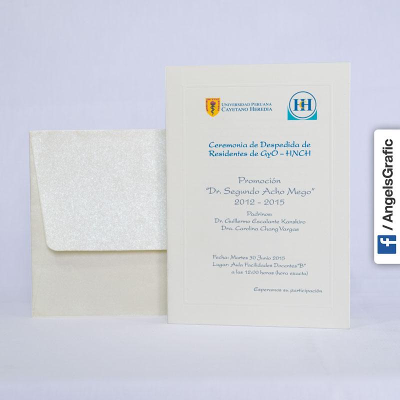 Tarjeta De Invitación Para Evento To 208 Angels Graphic