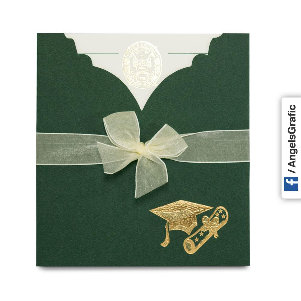 Tarjeta De Invitaci 243 N Para Graduaci 243 N To 213 Angels