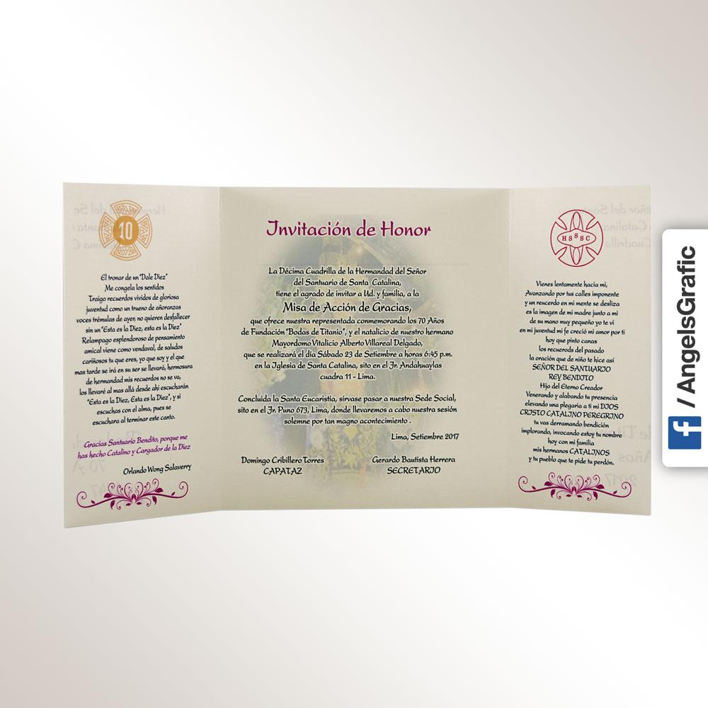 Tarjeta De Invitación Para Evento To 241 Angels Graphic
