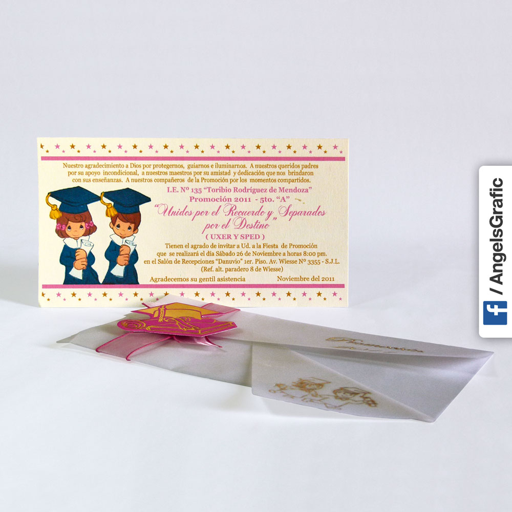 Tarjeta De Invitación Para Evento To 264 Angels Graphic
