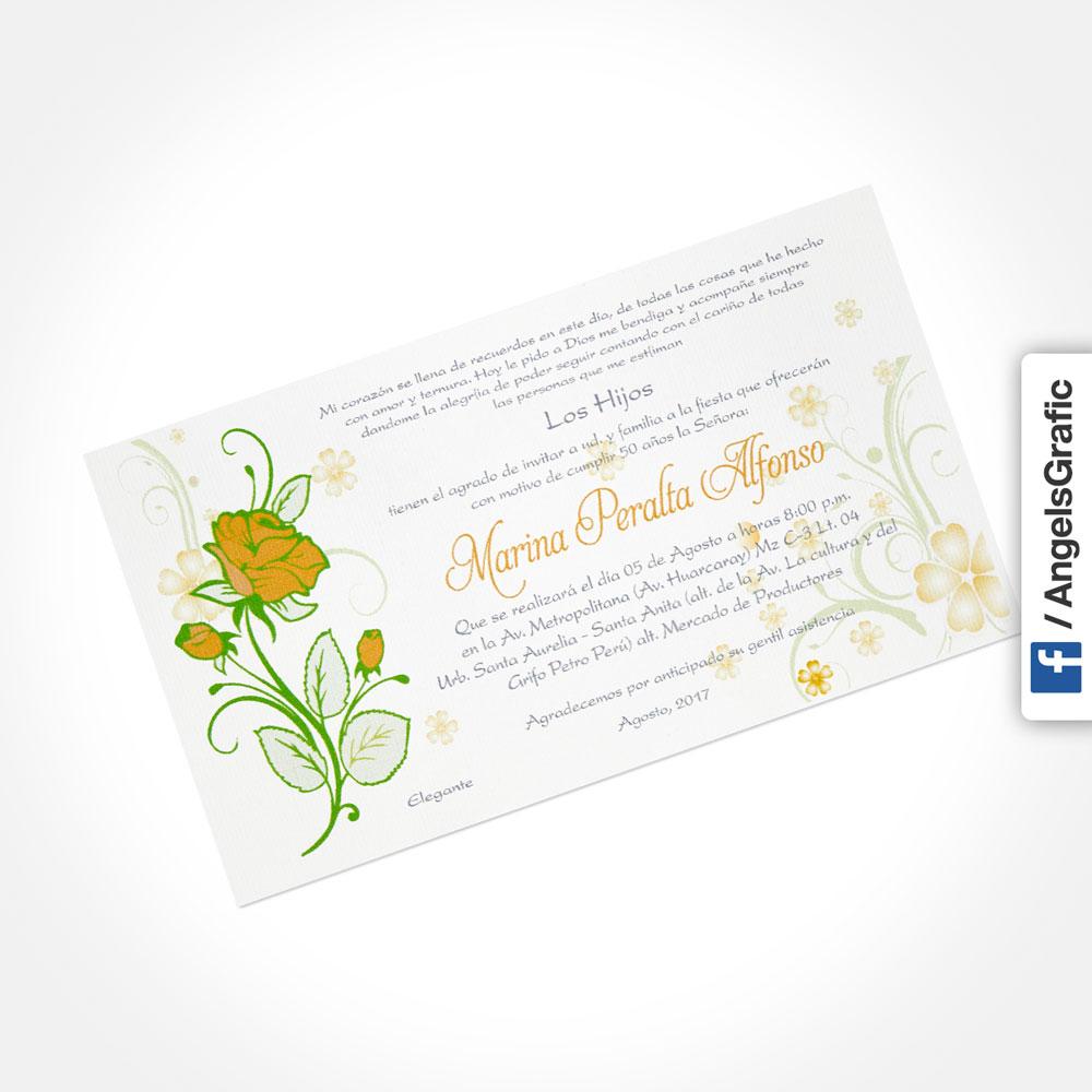 Tarjeta De Invitación Para Evento To 279 Angels Graphic