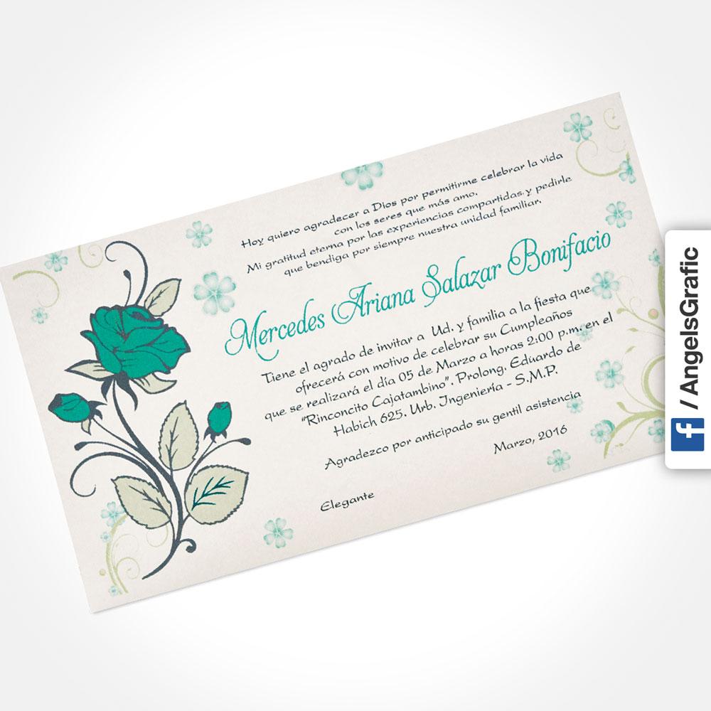 Tarjeta De Invitación Para Evento To 281 Angels Graphic